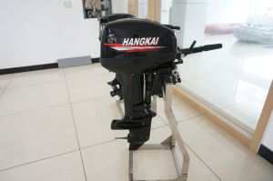 Ce Chinese 15HP 2 Stroke Boat Motor Outboard Water Cooling pictures & photos