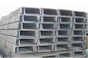 Construction Material Steel U Channel (ZL-UC) pictures & photos