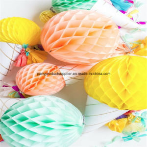 Promotion Good in Quanlity Tissue Paper Honeycomb Ball