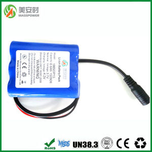 Li Ion 3.7V 6600mAh Safe Battery pictures & photos