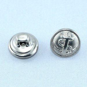 Anchor Logo Silver Metal Military Brass Shank Button pictures & photos