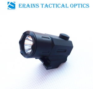 Erains Tac Optics Compact Tactical CREE Q3 100 Lumens Strobe Pistol LED Flashlight Torch pictures & photos
