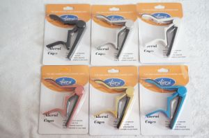 Aiersi Brand Metal Capo for Guitar Bass and Ukulele pictures & photos