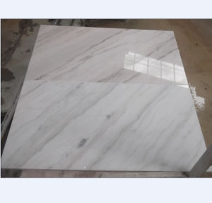 China Guangxi White Marble Tiles, Risers pictures & photos
