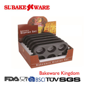 6 Cup Muffin Pan Display Box Carbon Steel Nonstick Bakeware (SL BAKEWARE) pictures & photos