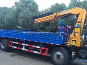 10 Ton Boom Crane Truck Straight Arm Crane Fro Sale pictures & photos