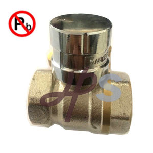 Lead Free Brass Magnetic Lockable Valve with Key pictures & photos