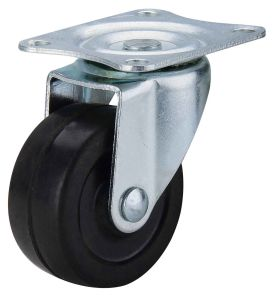 2 1/2 Inch Light Duty Hard Rubber Swivel Castor pictures & photos