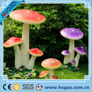Resin Colorful Mushrooms for Garden Decoration pictures & photos