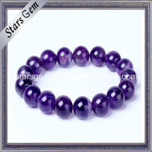Hot Sale Bracelet Natural Amethyst Beads pictures & photos