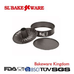 Springform Pan, 2bottoms Carbon Steel Nonstick Bakeware (SL-Bakeware)