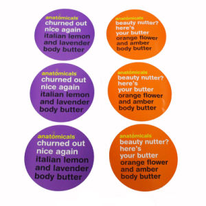 Waterproof Color Stickers with Screen Printing