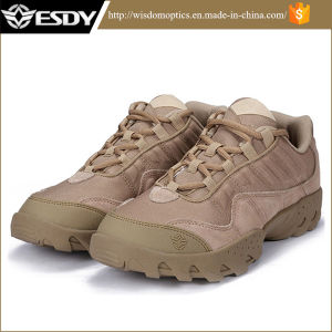 Tactical Boots Men Leather Shoes Safety Ranger Shoes pictures & photos