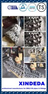 Pipe Fittings Stainless Steel (Elbow & tee & reducer & cap &flange) pictures & photos