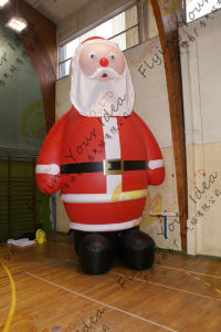 Christmas Inflatable PVC Balloon Chirstmas Santa