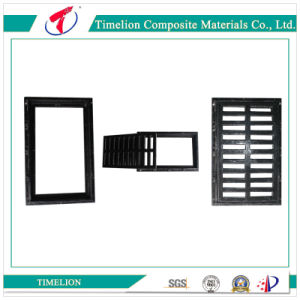 Molded FRP GRP Fiberglass Flat Grating for Tunnel pictures & photos