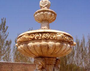 Stone Lion Statuary Fountain (FNT081) pictures & photos