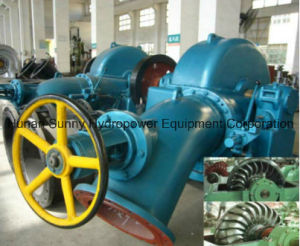 Horizontal Hydro (Water) Pelton Turbine-Generator Sf1600 High Voltage 10.5kv / Hydropower Alternator/ Hydroturbine pictures & photos
