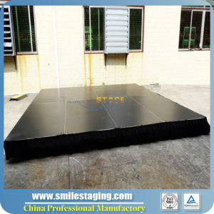 Aluminum Stage, Portable Stage with Flight Case Package pictures & photos