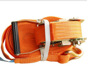 Ratchet Tie-Down Strap with J Hook pictures & photos