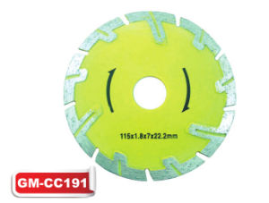 Cold Press Diamond Deep Cutting Saw Blades (GM-CC191) pictures & photos