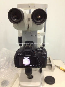 Integrated Beam Splitter and SLR Camera Adapter for Slit Lamps pictures & photos