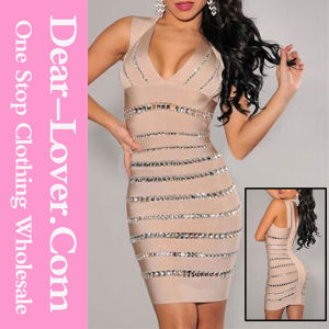 2016 Sexy Fashion Evening Prom Party Bandage Dress pictures & photos