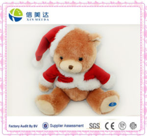 Customized Electronic Musical Singing Teddy Bear for Christmas pictures & photos