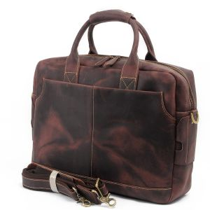 Hongkong Design Full Grain Leather Ladies Fashion Handbag RS-Mk8013 pictures & photos