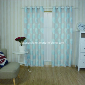 First Class Linen Touching 100% Polyester Curtain Fabric pictures & photos