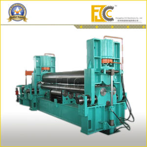 Steel Plate Three Rollers Hydraulic Bending Machine pictures & photos