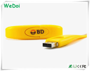 Low Cost Bracelet USB Flash Drive with Customized Logo (WY-S03) pictures & photos