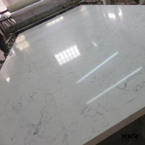 Wholesale Sparkle White Artificial Quartz Stone Countertop Slabs pictures & photos