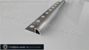 10mm Silver Brushed Aluminum Radius Edge Floor Trim pictures & photos