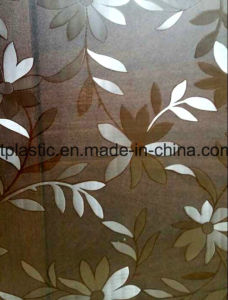 PVC Table Cover Embossed Sheet pictures & photos