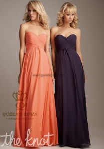 Made in China Bridesmaid Dresses Long Sister Dress for Wedding pictures & photos