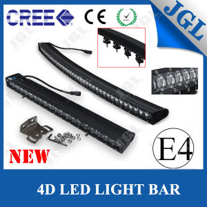 2016 LED Car Light 4D Light Bar Curved Slim Lights