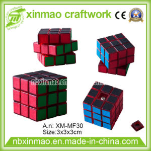 3cm High Speed Rubiks Cube with Matt Sticker for Toys. pictures & photos