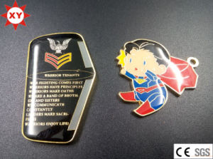 Top Sale Gold Metal Badges with Eagle pictures & photos
