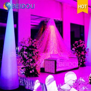 Event Decoration Inflatable Pillar Column Arch Tube Cones Ivory Tusk pictures & photos