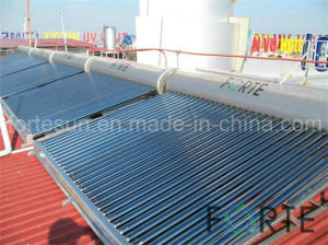 Stainless Steel High Efficient Vacuum Tube Low Pressure Solar Water Heater pictures & photos