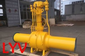 Pneumatic/Electric Fully Welded Ball Valve pictures & photos