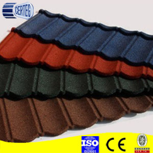 Wholesale Classic stone coated steel roofing tiles pictures & photos