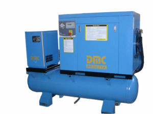 Screw Compressor with Dryer on 220L Tank 8bar pictures & photos