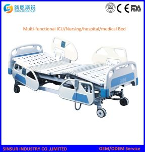 Hospital Furniture Five Shake Patient Electric Hospital Bed pictures & photos