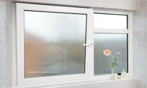Toilet Bubble Glass Swinging Aluminium Windows Prices pictures & photos