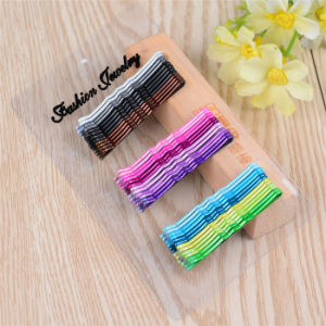 Clear Card Packed 36 Pieces Colorful Ball Tip Hairpins (JE1017-2) pictures & photos