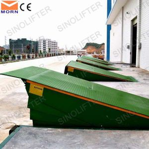 12t Hydraulic Dock Leveler Fixed Ramp Lift for Warehouse pictures & photos