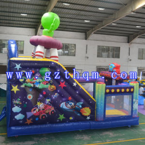 Alien Cartoon Inflatable Bouncer, Inflatable Castle for Sale pictures & photos