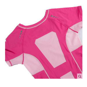 Blank Slim Fit T Shirts for Women Sports Wear pictures & photos